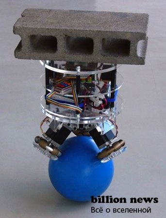 Робот на шаре