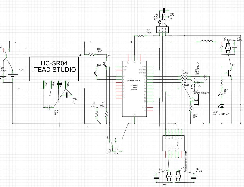 Схема для создания робота