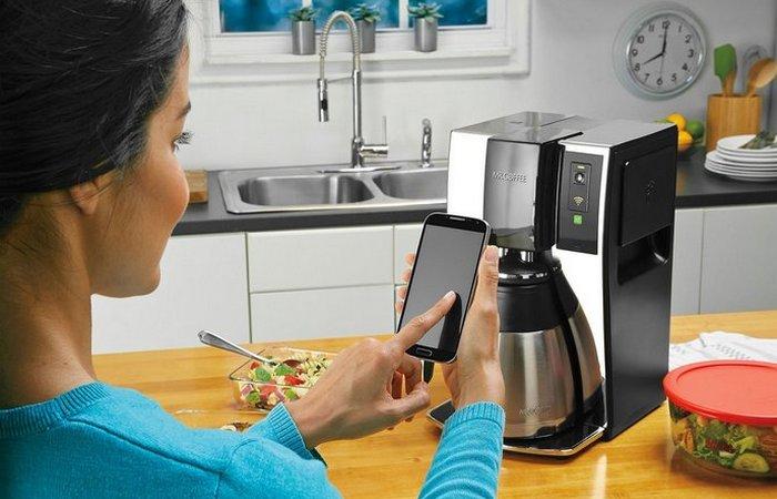 Просто кайф включать кофеварку со смартфона