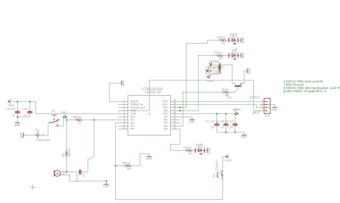 схема электронного таракана